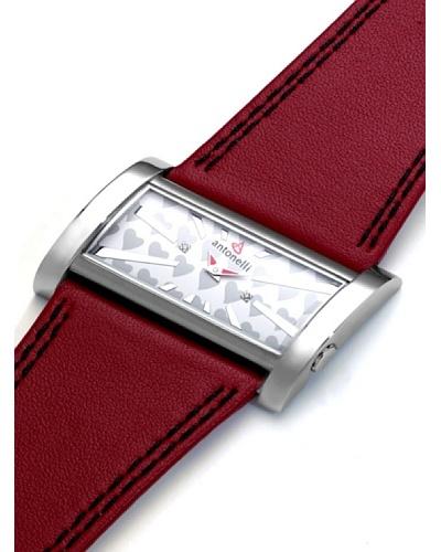 ANTONELLI 960039 – Reloj Unisex movimiento de cuarzo con correa de piel