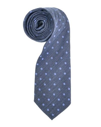 Aquascutum Corbata Malpensa Gris / Azul