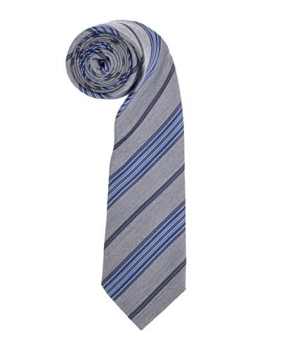 Aquascutum Corbata Talamone Gris / Azul