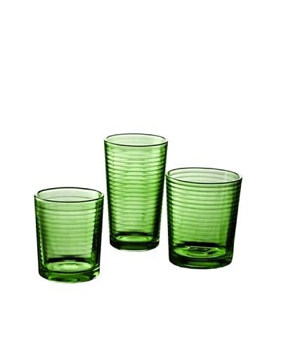 ARC Juego 18 Vasos Modelo Mixi Green