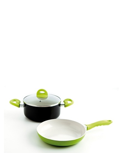 Arcusine Set Cacerola 18 Cm + Sartén 20 Cm Modelo Ceos Green