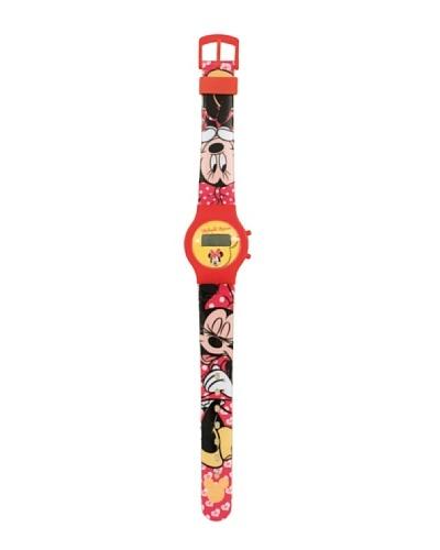 Arditex Artesanía y Diseño Textil Reloj Minnie Rojo ÚNICA