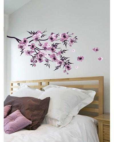 Art Applique Vinilo Watercolor Flowers