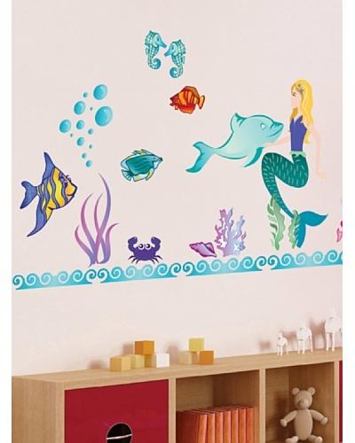 Art Applique Vinilo Sirenas