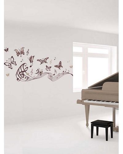 Art Applique Vinilo Musical Butterflies