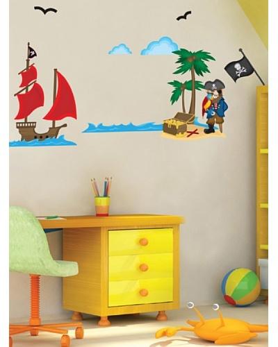 Art Applique Vinilo Piratas