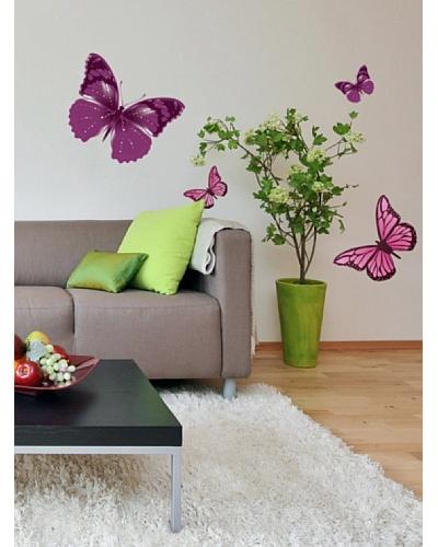 Art Applique Vinilo Big Butterflies