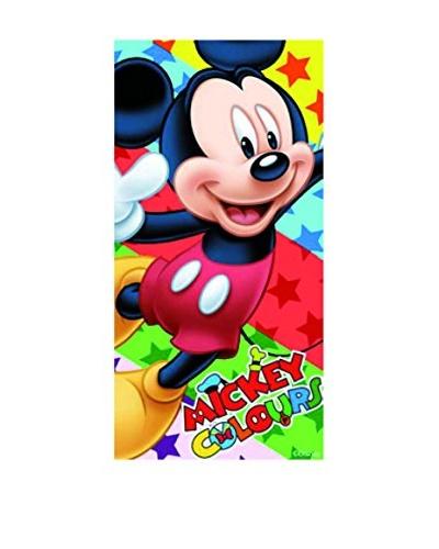 Art Experience Toalla de Playa Mickey Estrellas Multicolor 70 x 140