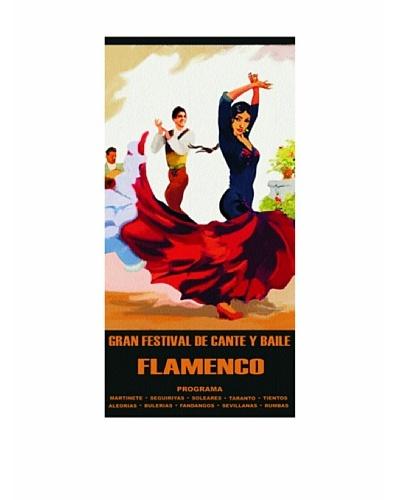 Art Experience Toalla De Playa Flamenca Multicolor 75 x 152