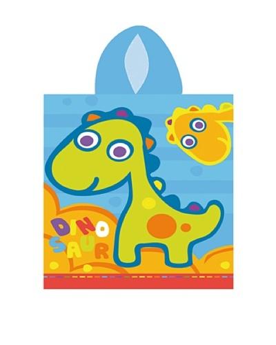 Art Experience Poncho Dinosaurio Azul 60 x 120