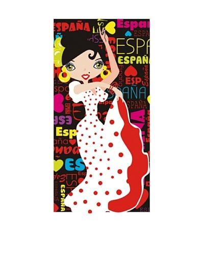Art Experience Toalla De Playa Lolita Multicolor 75 x 150