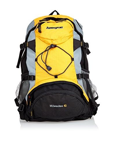 Aspensport Mochila Milwaukee Naranja / Negro
