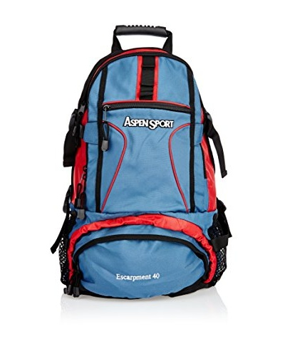 Aspensport Mochila Escarpment Azul / Rojo