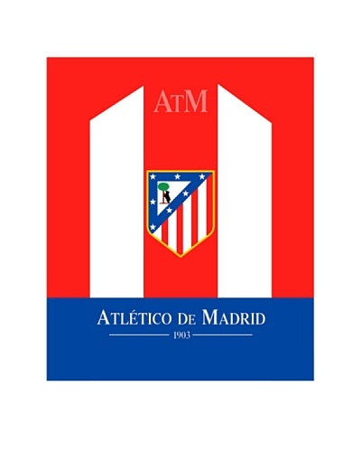 Atlético de Madrid Manta Coral Escudo