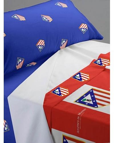 Atlético de Madrid Juego de Sábanas Escudo