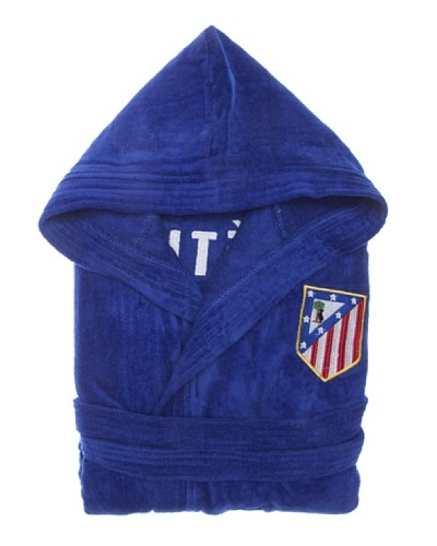 Atlético de Madrid Albornoz Terciopelo Diamond Infantil