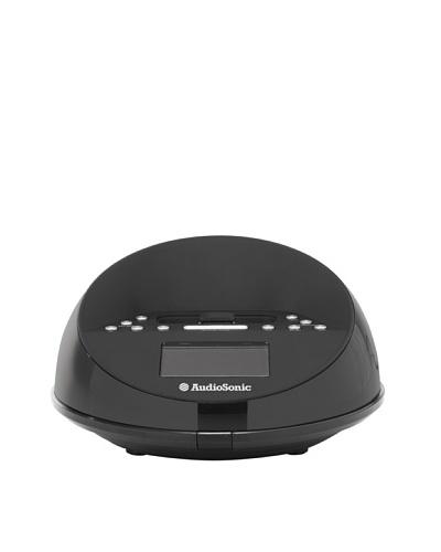 Audiosonic Radio Reloj Despertador Con Ipod Dock