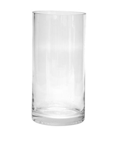 Avocado Jarrón colección Burbujas Transparente