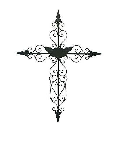 Avocado Decoración Pared Crucifijo Iii Forja Negro