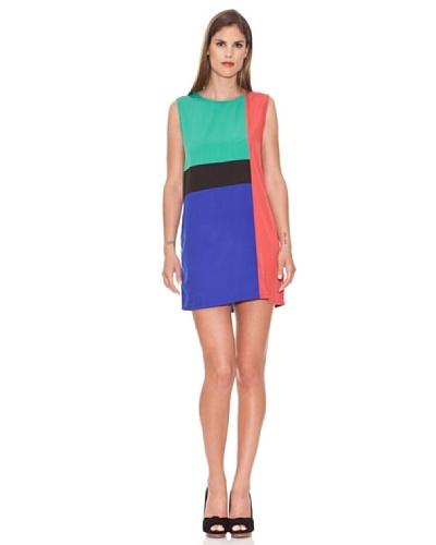 Azura Vestido Cubista Multicolor