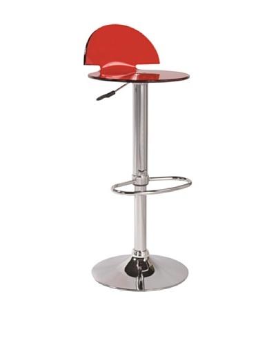 Baakal & ross Set de 2 Taburetes De Bar Rojo