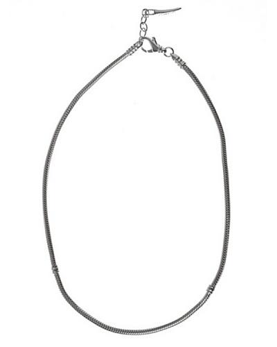 Bacio Collar de Plata de Ley 925  Plata 40-42,5 Cm
