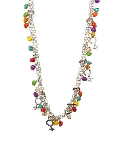 Bamboleo Collar Calaveras BCO1546LMU Multicolor
