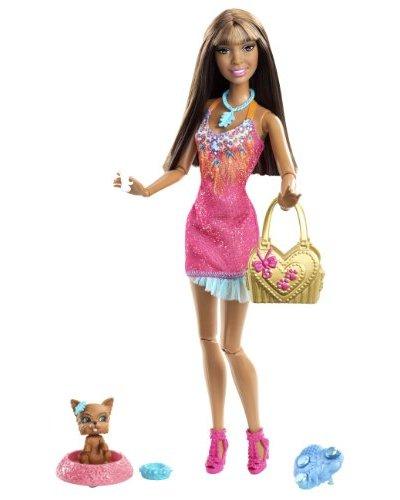 Barbie X2281 – Barbie Fashionistas Con Mascota (Mattel)