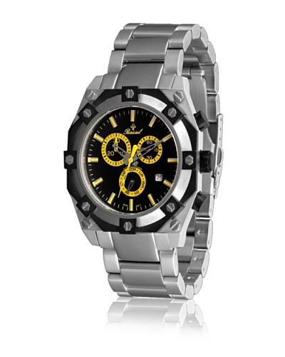 Bassel Reloj CR4030AM de Acero Negro / Amarillo