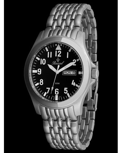 Bassel Reloj CR4029N de Acero Negro