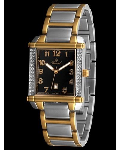 Bassel Reloj CR2079N de Acero Negro