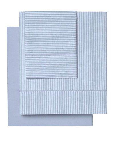 Bassols Juego de sábanas 4 piezas Tebas azul Cama 180 (280 x 280 cm)