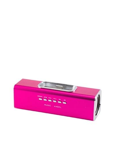Beja Altavoz Portátil Para iPhone 3/4/4S y iPod USB Sd Rosa
