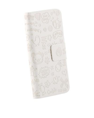Beja Funda Blanca MISS para iPhone 5/5S