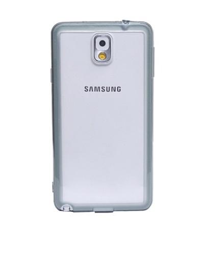 Beja Carcasa traslucida con bordes Negros para Samsung Galaxy Note 3