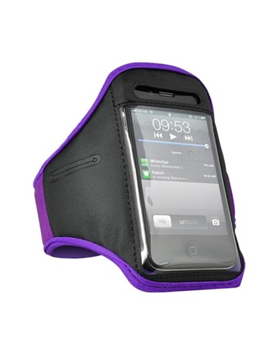Beja Brazalete para Iphone 4/4S Sport. Violeta