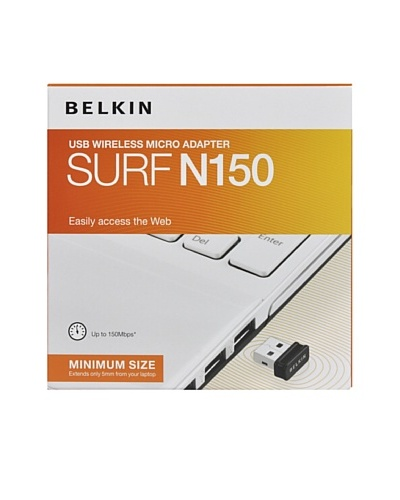 Belkin Redes Wifi Adaptador Usb Surf N150