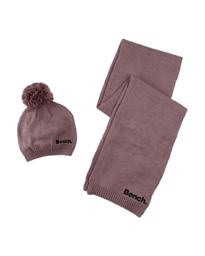 Bench Bufanda + gorro Fir Tree Violeta