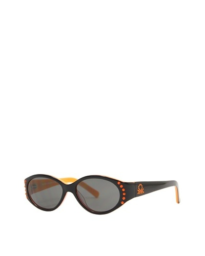 Benetton Kids Gafas BE-BB-50701 Negro / Naranja
