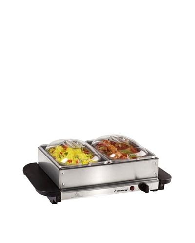 Bestron Placa calentadora tipo buffet 200 watios DBS200