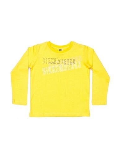 Bikkembergs Camiseta Kids Amarillo