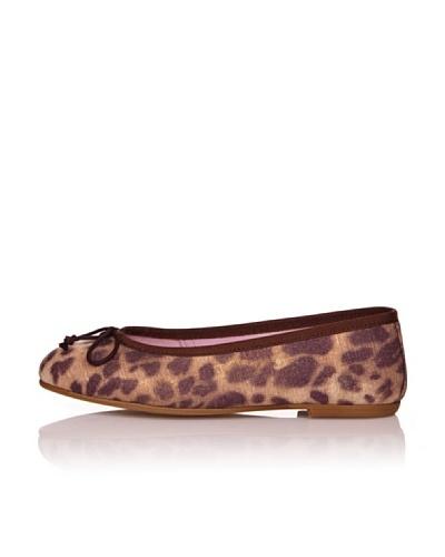 Bisué Bailarinas Textil Leopardo