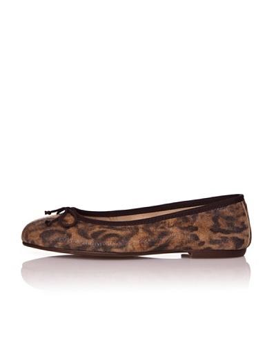 Bisué Bailarinas Serraje Leopardo