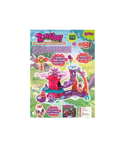 Zoobles – Birthday Party Playset (Bizak) 61923215