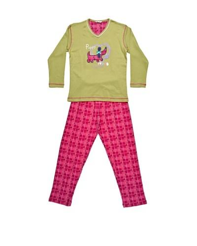 Bkb Pijama Niña Punto Estampado