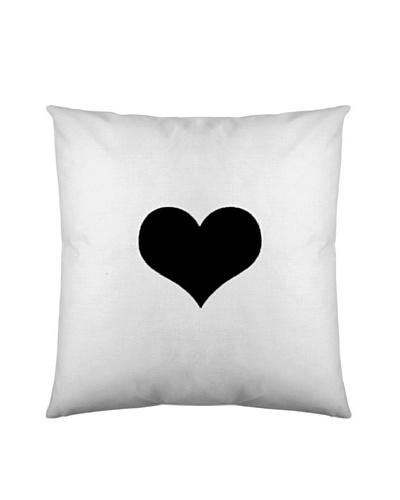 Black & White Funda de Cojín Lover