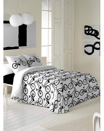 Black & White Juego de Funda Nórdica Cycles
