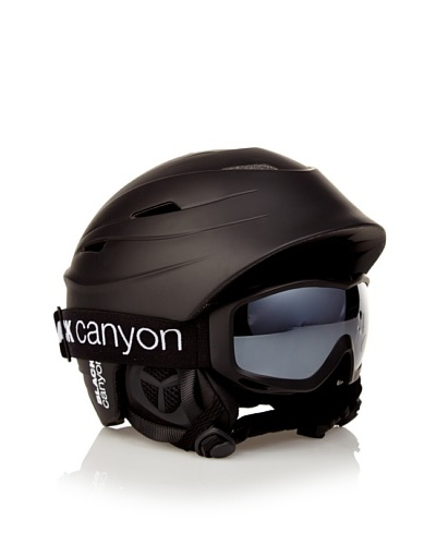 Black Canyon Casco + Gafas Negro