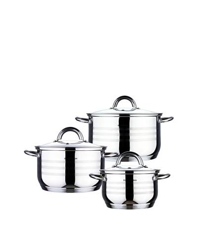 Blaumann bater a de cocina de 12 piezas con tapaderas mi moda estilo - Bateria de cocina solingen 12 piezas ...