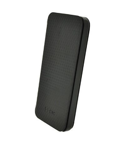 Blautel iPhone 5 Funda 4-Ok Stand Negro